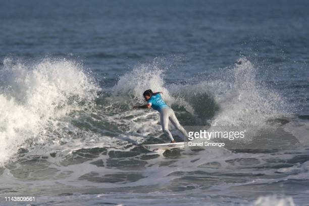 Silvana Lima of Brazil will surf in Round 2 of the OI Rio Pro 2018 after placing third in Heat 5 of Round 1 at Saquarema, Ita√∫na, BRA.