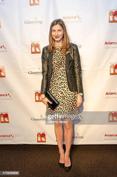 Silvana Surety attends the 2015 Glasswing International Benefit Gala at Tribeca Three Sixty on April 23 in New York City