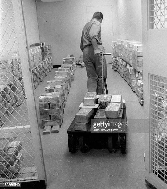 1281968 OCT 13 1981 silver All the silver sold on Commodity Exchange contracts must be delivered to and stored in bank vaults safely underground...