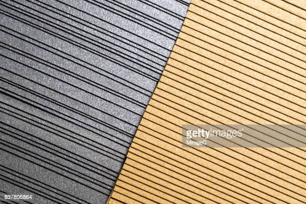 Silver and Golden Colored Overlapping Paper Cards