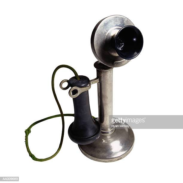 Silver Candlestick Telephone