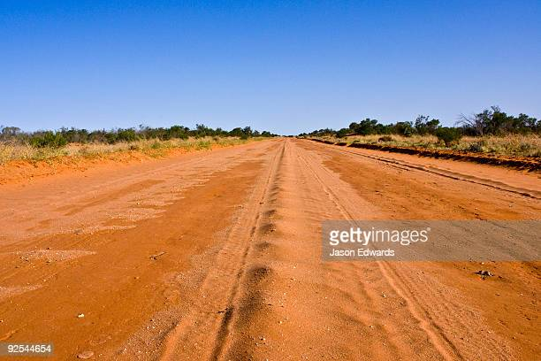 Silver City Highway, south of Tibooburra, New South Wales, Australia.