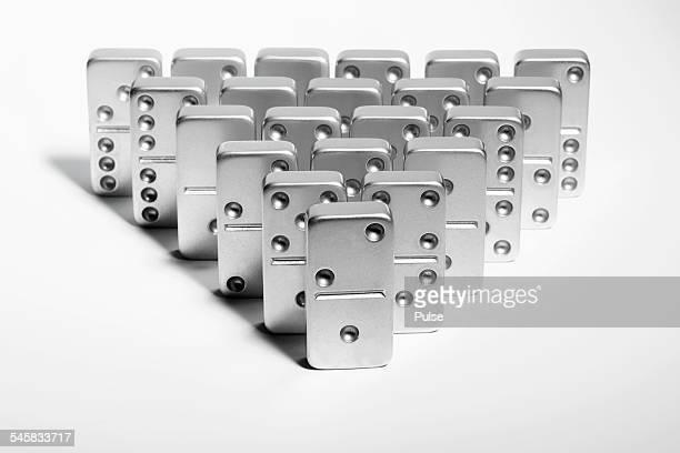 Silver dominoes
