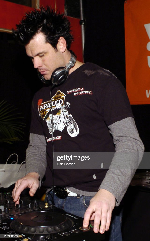 DJ Silver during Sundance All Star Jam Band at Canyons Resort in Park City, Utah, United States.