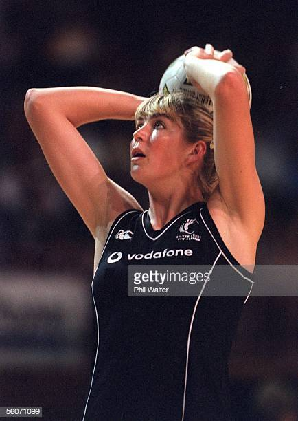 Silver Fern Irene van Dyk during their Fisher Paykel Cup match played against Australia at the Newcastle Entertainment Centre Tuesday Australia won...