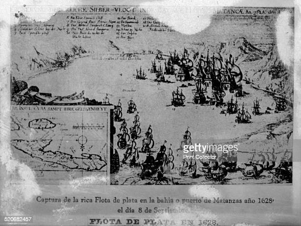 Silver fleet in 1628 The Dutch Squadron commanded by General Pedro Pieterson Heyn entered Matanzas Bay 8th September 1628 and attacked the Spanish...