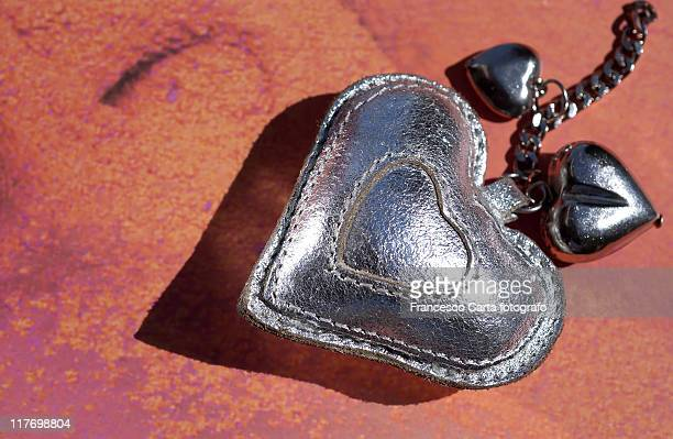 silver heart - tempio pausania stock pictures, royalty-free photos & images