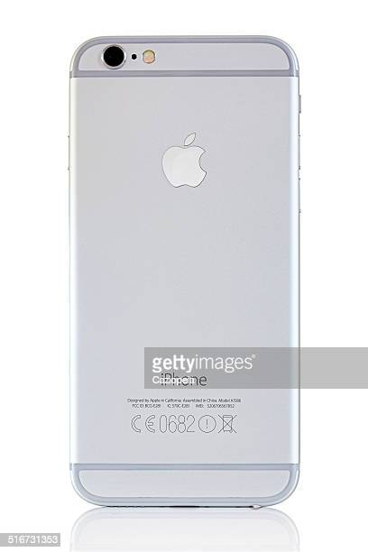 silver iphone 6 back - camera icon stock pictures, royalty-free photos & images