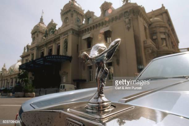 Silver Lady Emblem on a Rolls Royce Bonnet, Monte Carlo