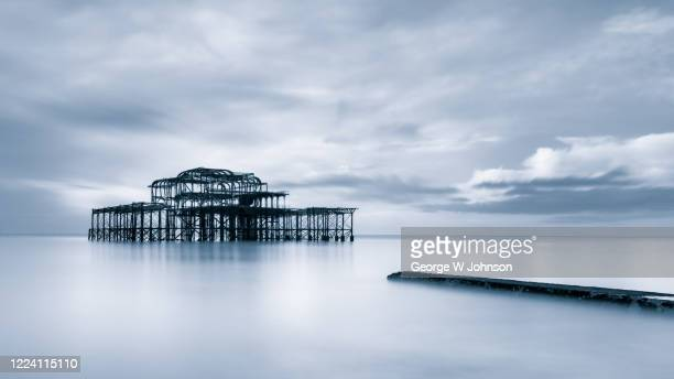 silver lake - brighton beach england stock pictures, royalty-free photos & images