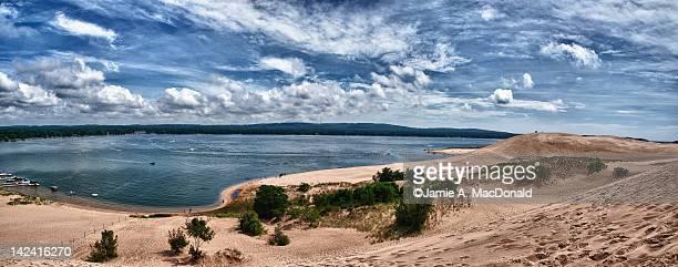 silver lake - michigan stock-fotos und bilder