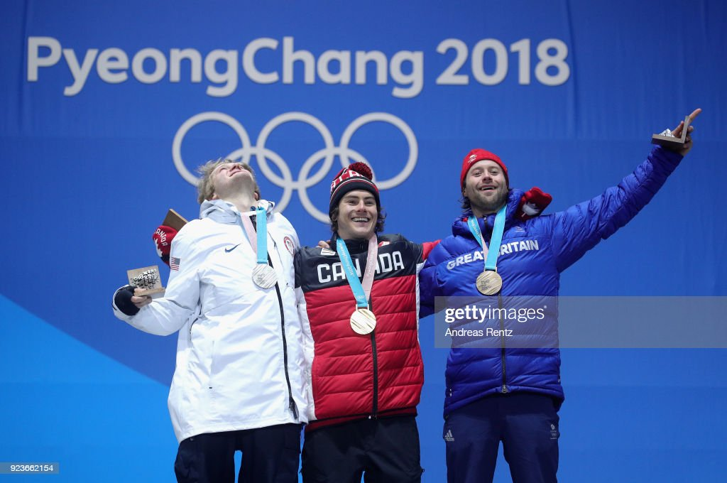 KOR: Medal Ceremony - Winter Olympics Day 15