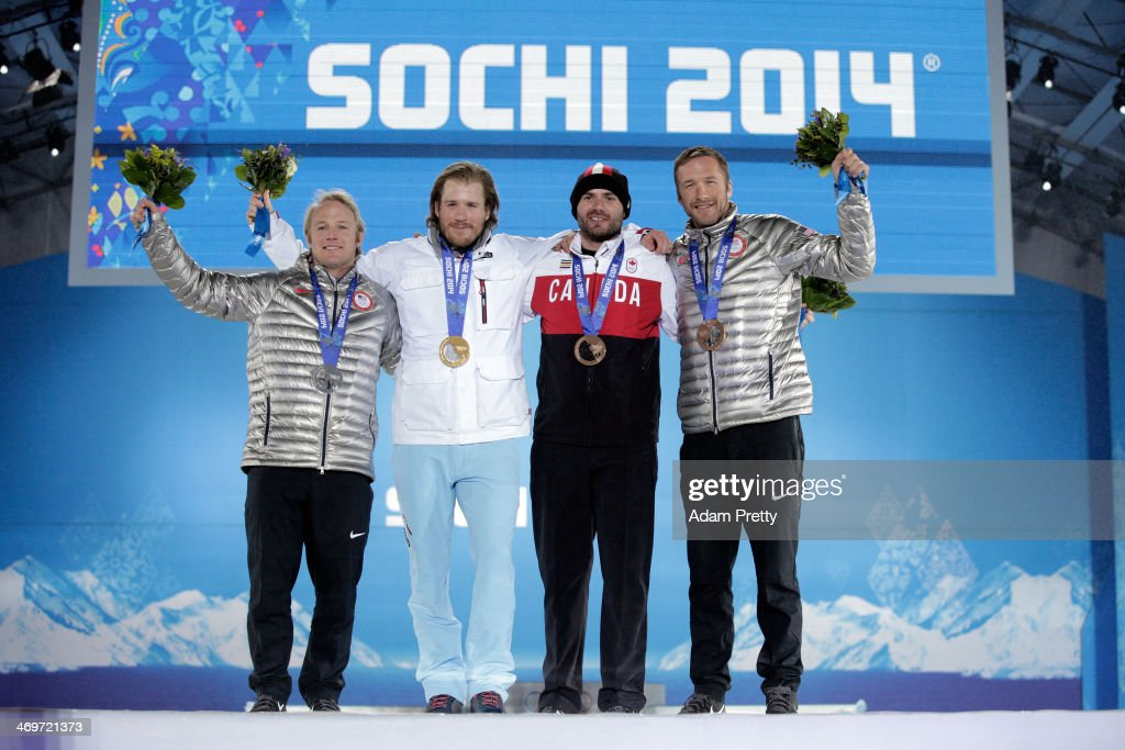 Medal Ceremony - Winter Olympics Day 9