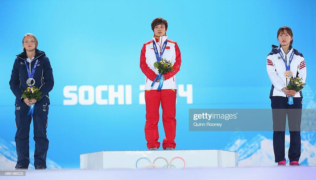 Medal Ceremony - Winter Olympics Day 6 : News Photo