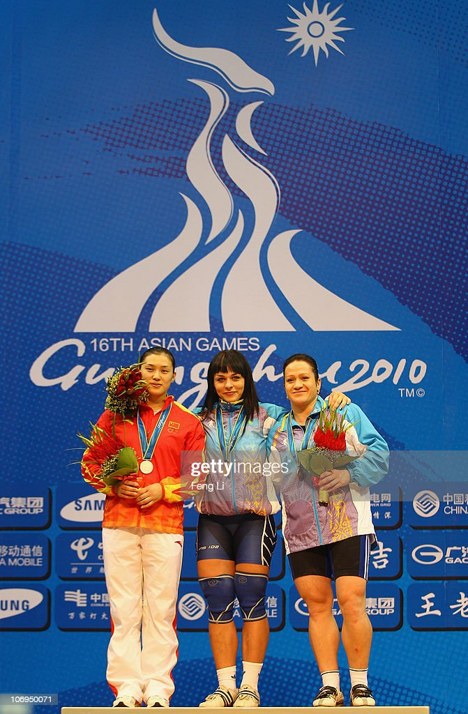 16th Asian Games - Day 6: Weightlifting : News Photo