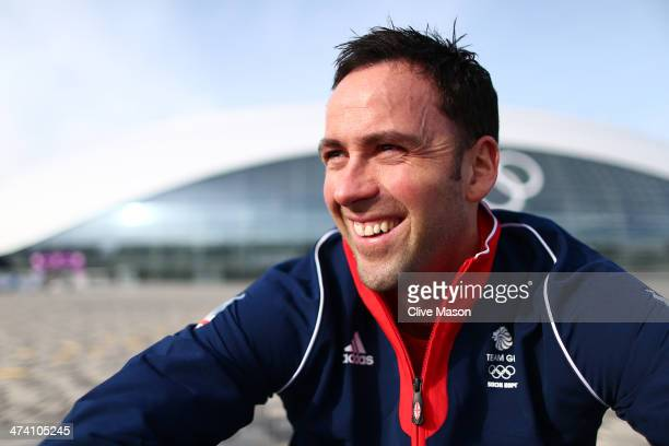Silver medalist Curling team captain David Murdoch attends a British Olympic Association photocall at the Olympic Park on day fifteen of the 2014...