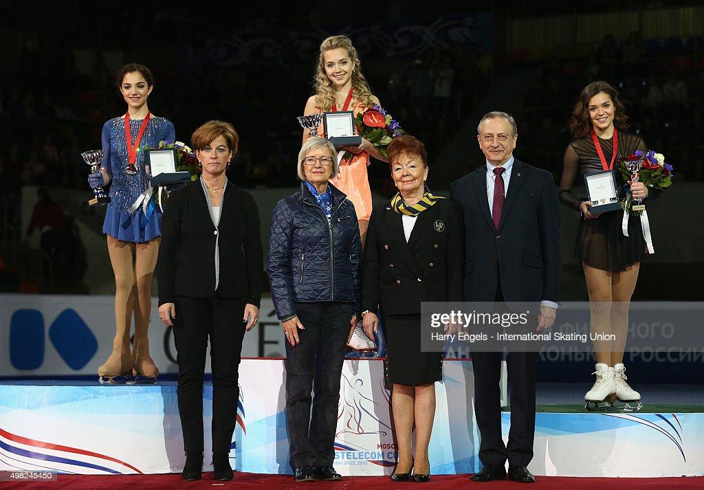 Rostelecom Cup ISU Grand Prix of Figure Skating 2015 - Day Three