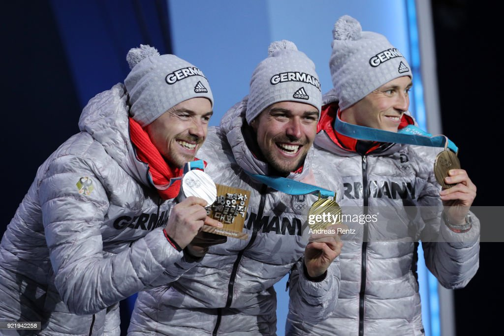Medal Ceremony - Winter Olympics Day 12 : News Photo