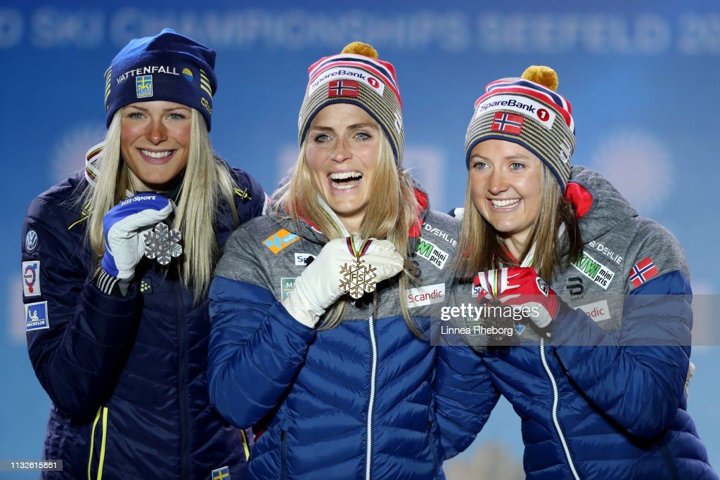 AUT: FIS Nordic World Ski Championships - Medal Ceremony