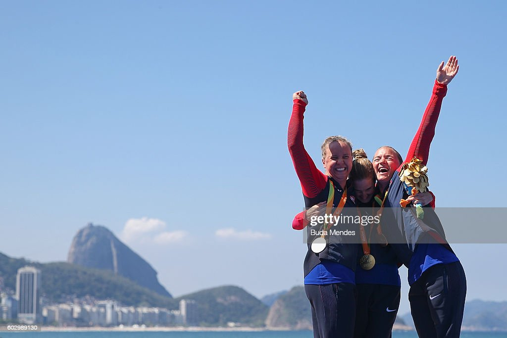 2016 Rio Paralympics - Day 4 : News Photo