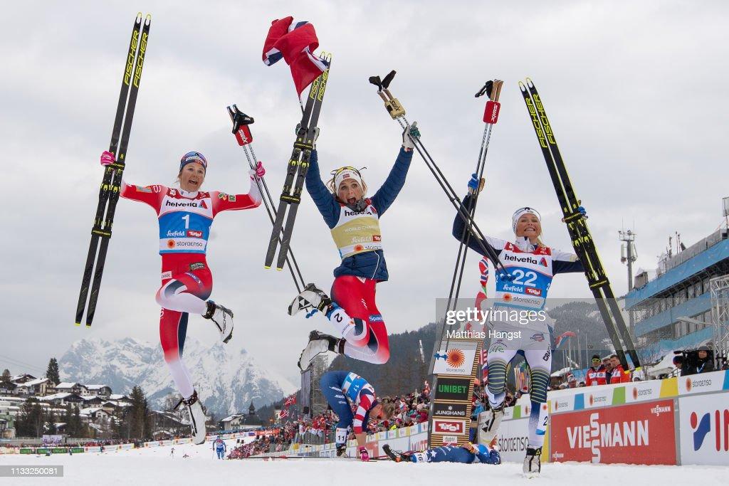FIS Nordic World Ski Championships - Women's Cross Country 30k : News Photo