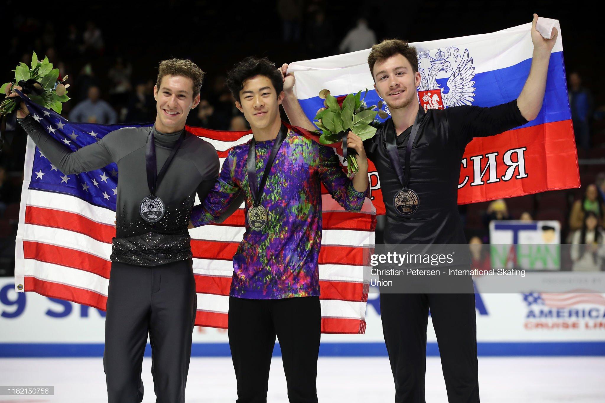 ISU Grand Prix of Figure Skating - Skate America : ニュース写真