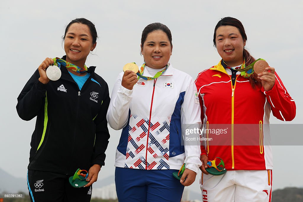 Golf - Olympics: Day 15 : ニュース写真