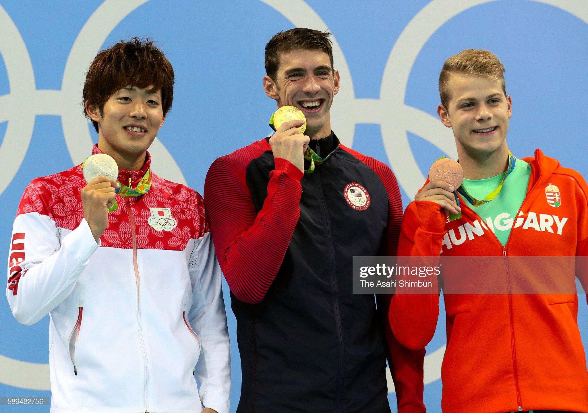 Swimming - Olympics: Day 4 : Fotografía de noticias