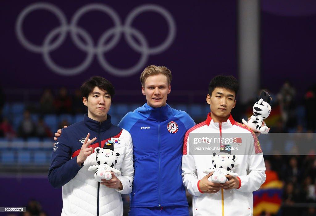 Speed Skating - Winter Olympics Day 10 : News Photo