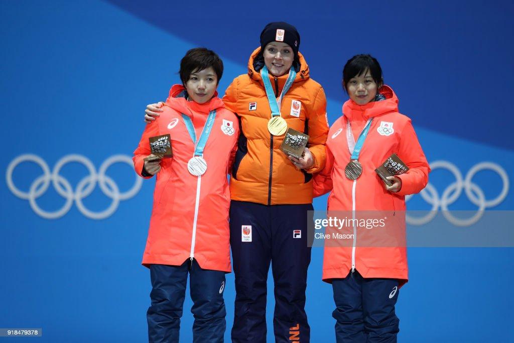 Medal Ceremony - Winter Olympics Day 6 : ニュース写真