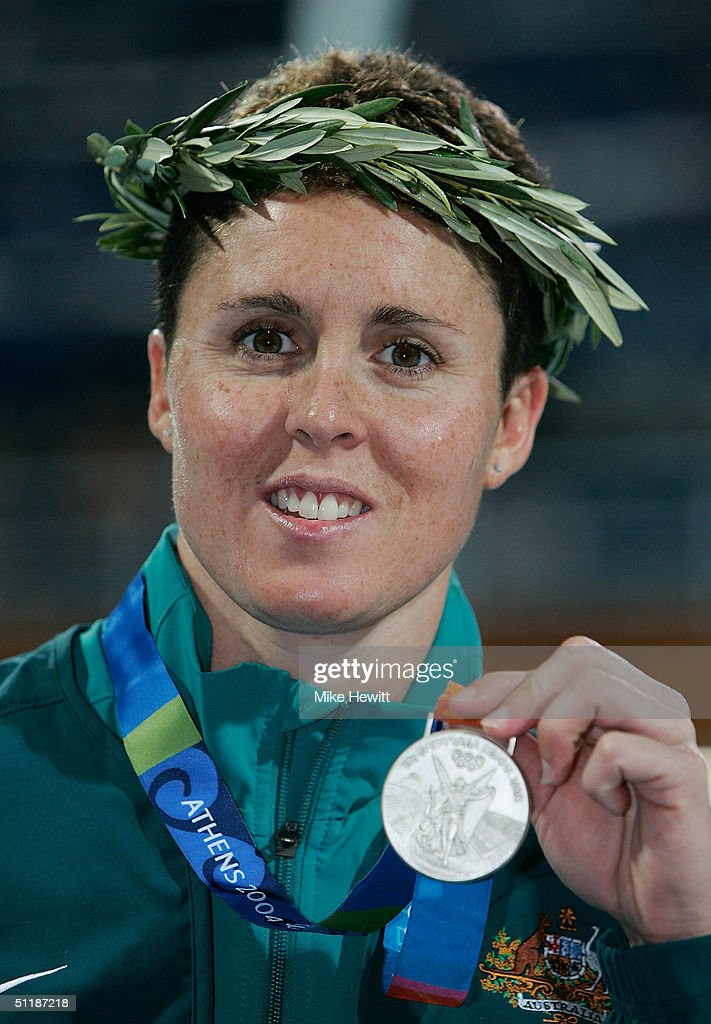 Womens 200m Butterfly Medal Ceremony : News Photo
