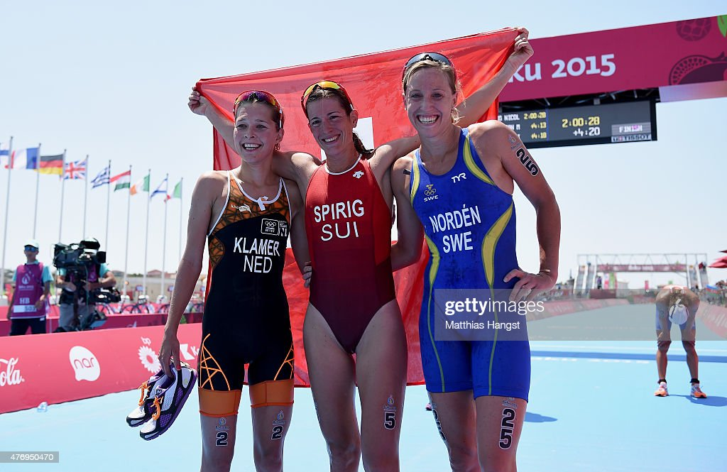 Triathlon Day 1: Baku 2015 - 1st European Games