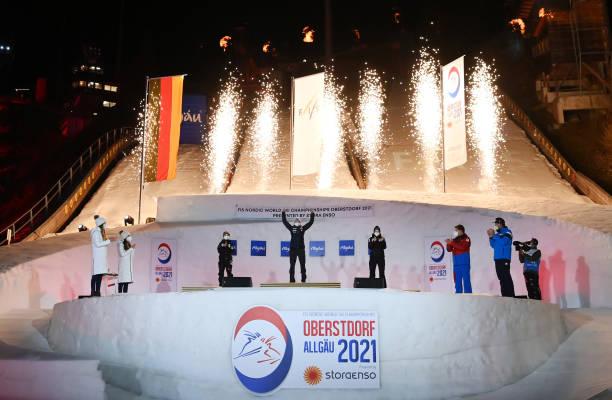 DEU: FIS Nordic World Ski Championships Oberstdorf - Medal Ceremony