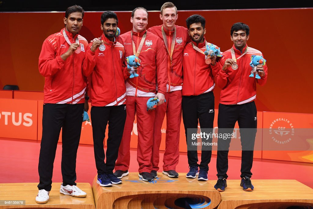 Table Tennis - Commonwealth Games Day 10 : News Photo