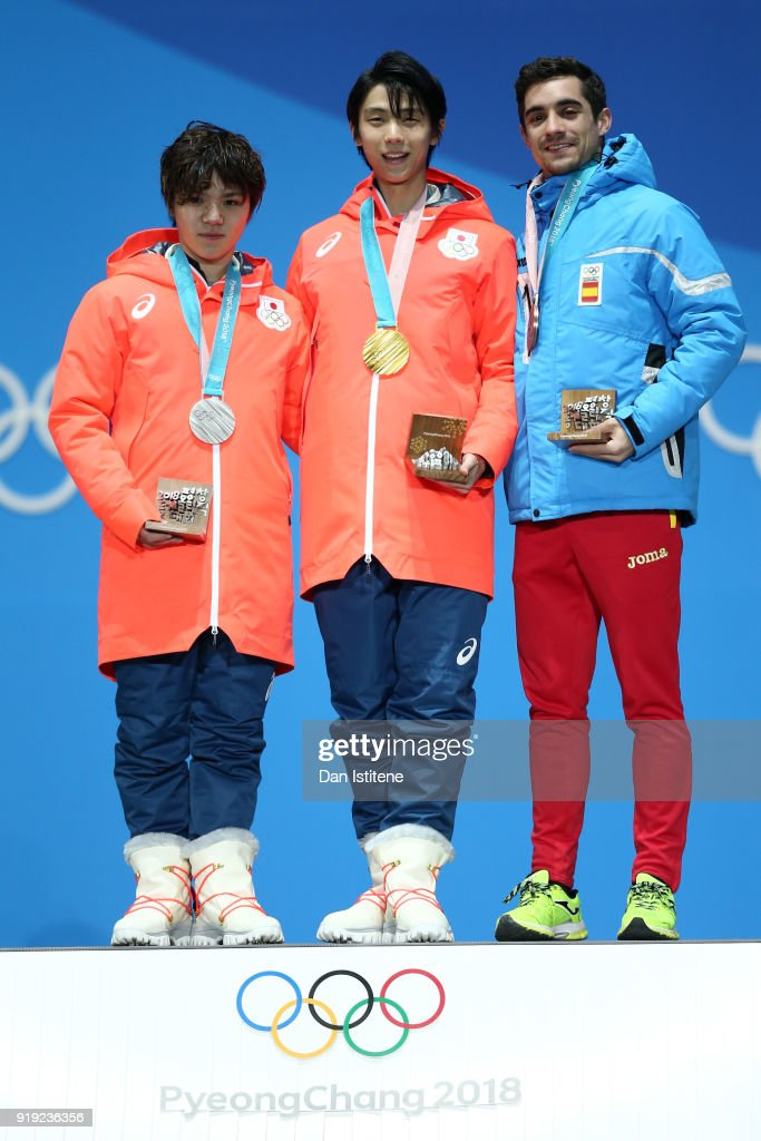 Medal Ceremony - Winter Olympics Day 8