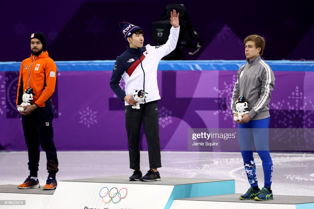 Short Track Speed Skating - Winter Olympics Day 1 : News Photo