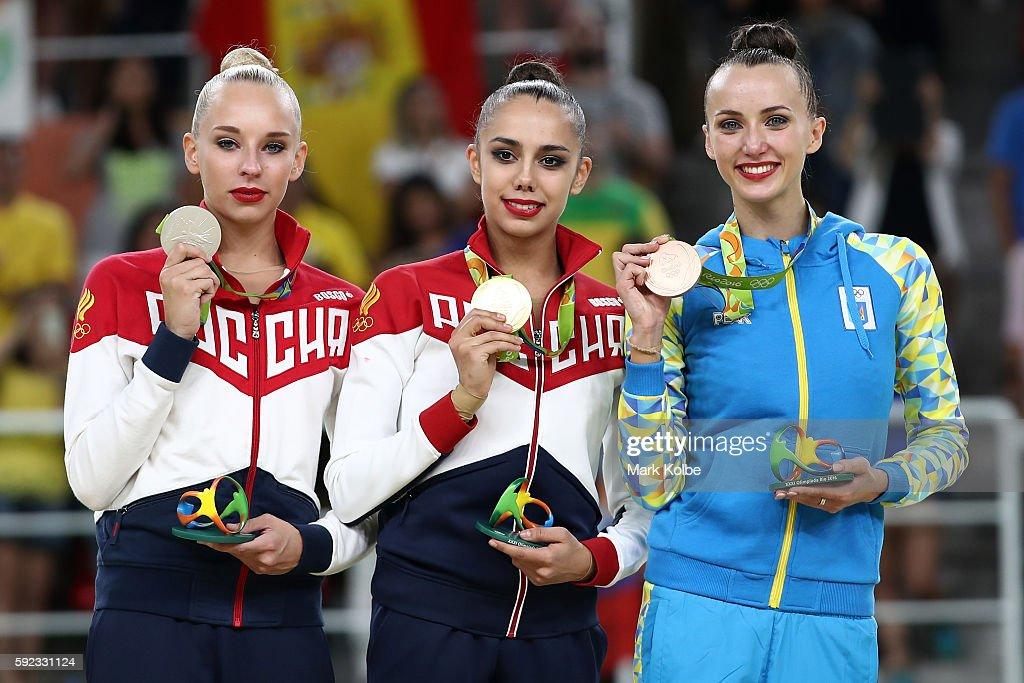 Gymnastics - Rhythmic - Olympics: Day 15 : News Photo