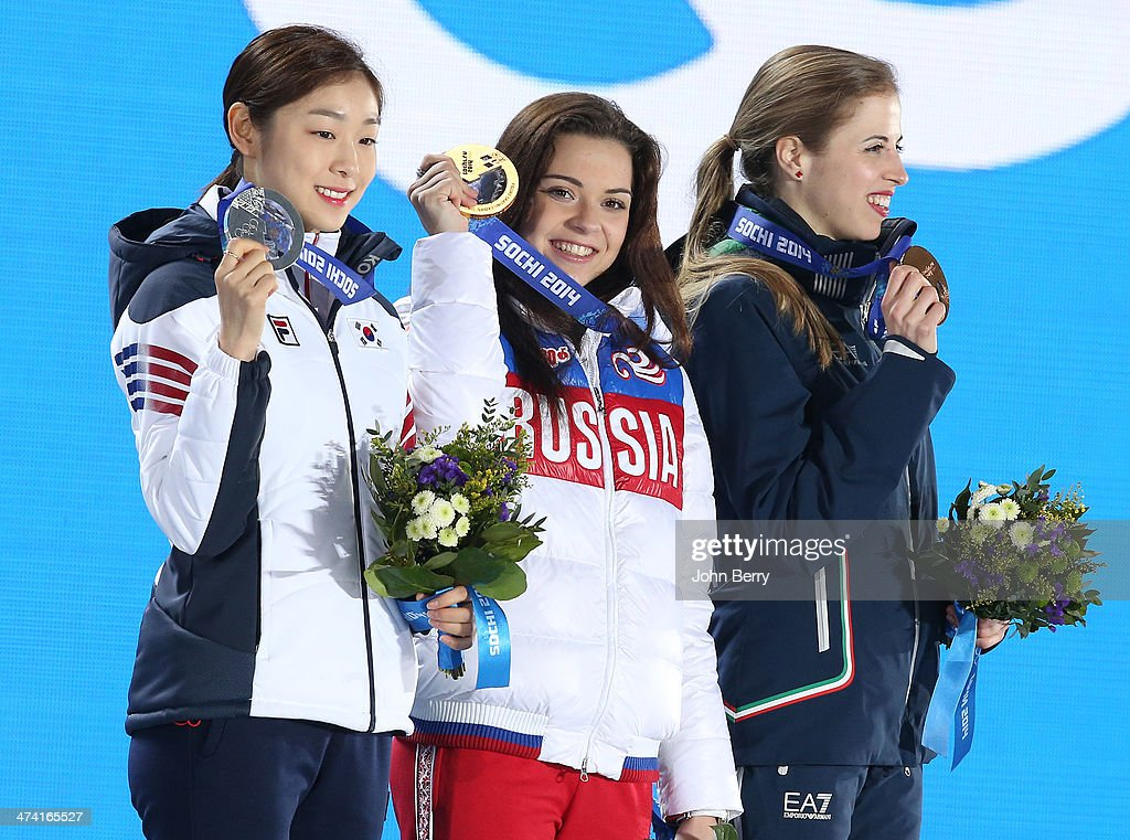 Medal Ceremony - Winter Olympics Day 14 : ニュース写真