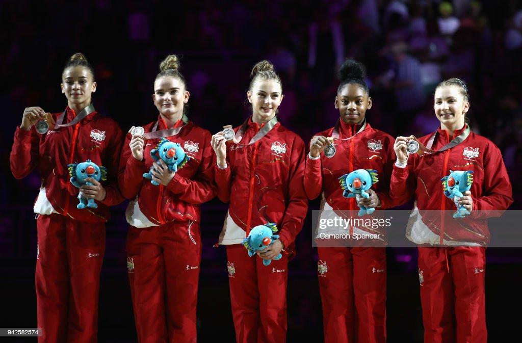 Gymnastics - Commonwealth Games Day 2 : News Photo