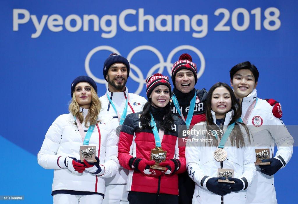 Medal Ceremony - Winter Olympics Day 11 : News Photo