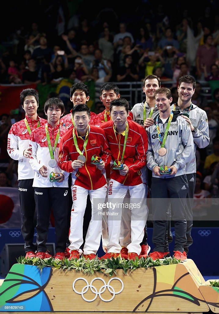 Table Tennis - Olympics: Day 12 : News Photo