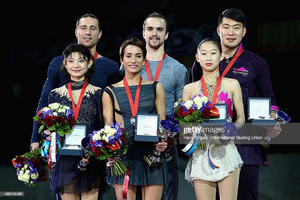 Rostelecom Cup ISU Grand Prix of Figure Skating 2015 - Day Three : News Photo