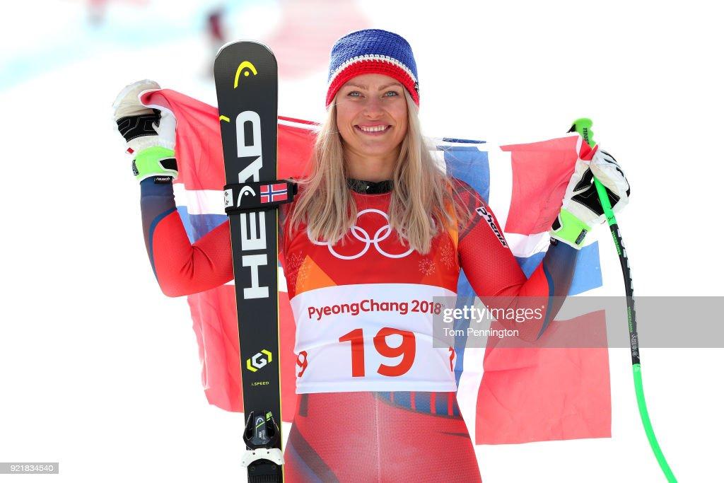 Alpine Skiing - Winter Olympics Day 12 : News Photo