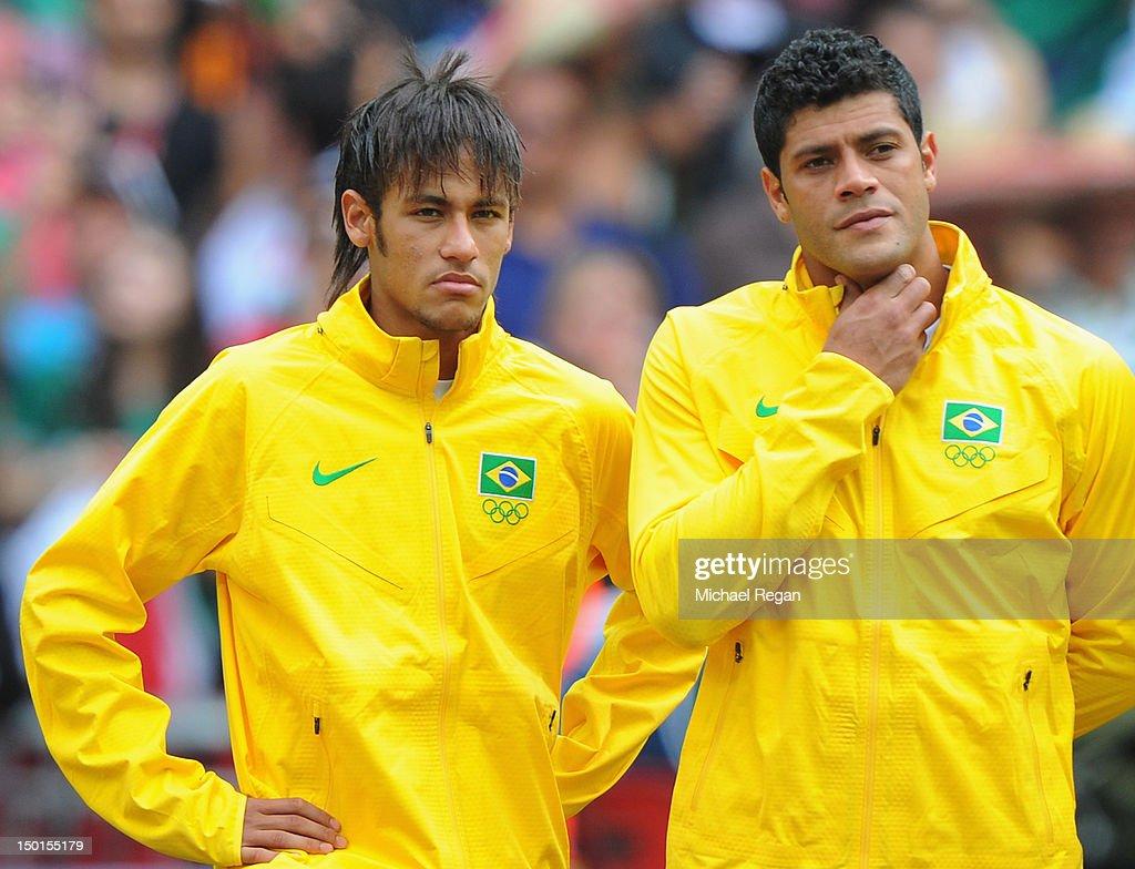 Olympics Day 15 - Men's Football Final - Brazil v Mexico : News Photo