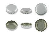 Silver Metal caps