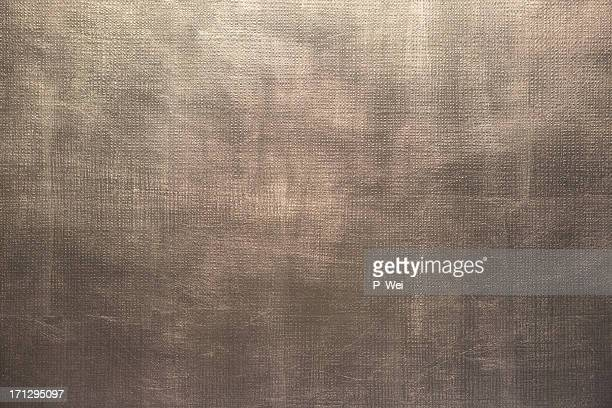 Silver metal leafed surface background