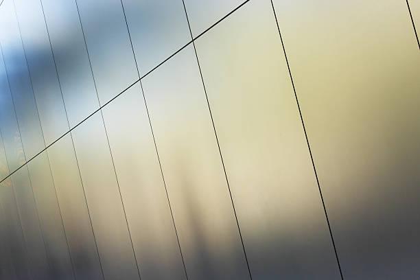 Silver Metallic Wall Panels