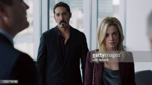 """Silver or Lead"""" Episode 506 -- Pictured in this screengrab: Alejandro Barrios as Chicho, Molly Burnett as Kelly Anne Van Awken --"""