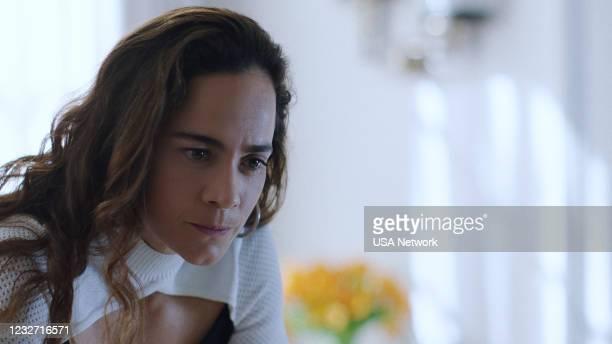"Silver or Lead"" Episode 506 -- Pictured in this screengrab: Alice Braga as Teresa Mendoza --"
