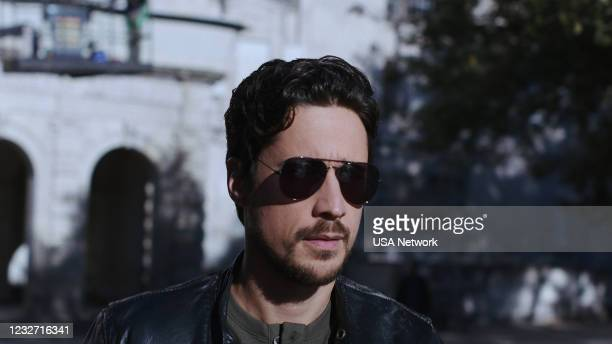 """Silver or Lead"""" Episode 506 -- Pictured in this screengrab: Peter Gadiot as James Valdez --"""